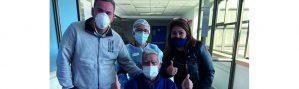 Más de 3.100 pacientes le han ganado al coronavirus