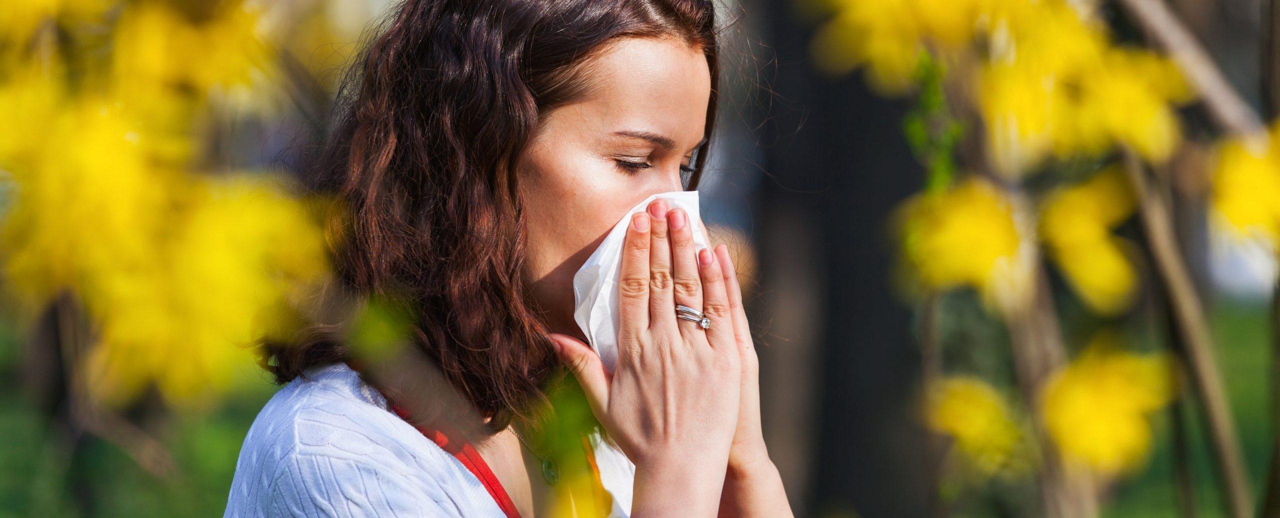 Alergias de primavera
